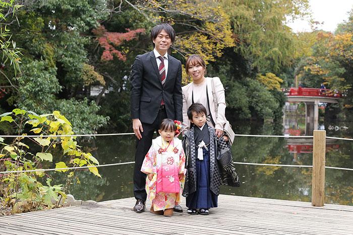 大宮氷川神社へ七五三の出張撮影!お客様の声