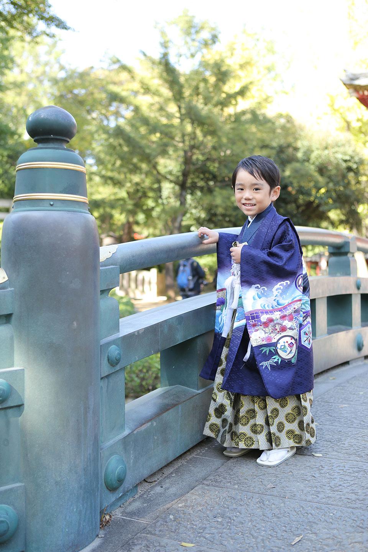 七五三の出張撮影-根津神社-