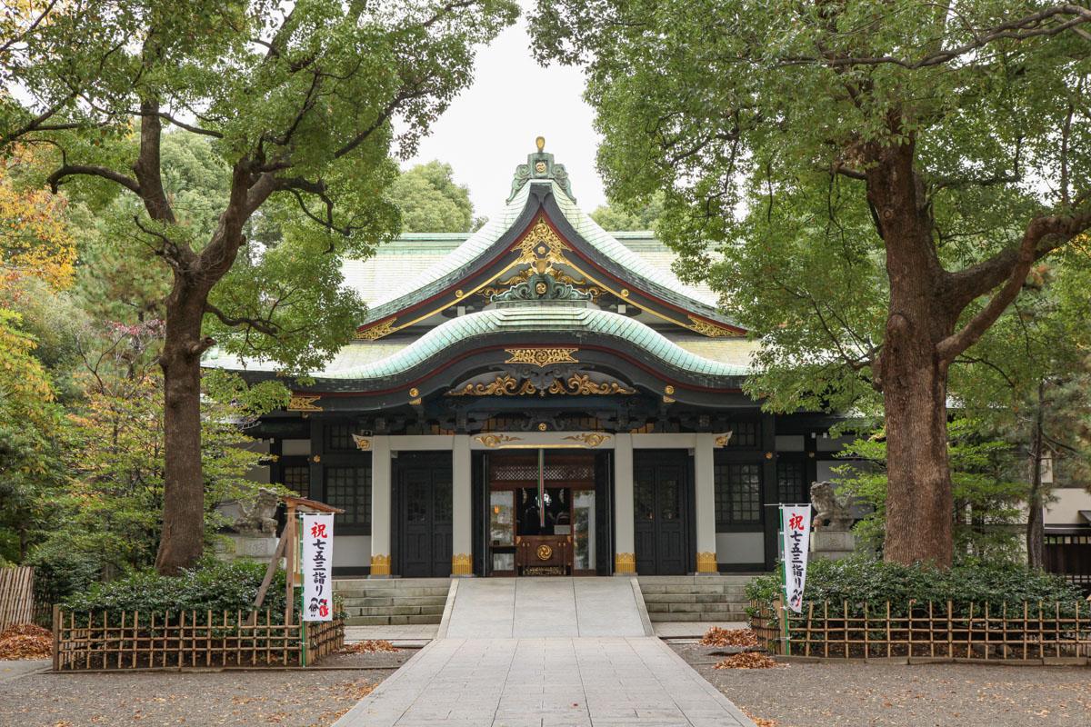 王子神社の社殿(本殿)