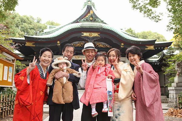 王子神社で七五三 アイキャッチ