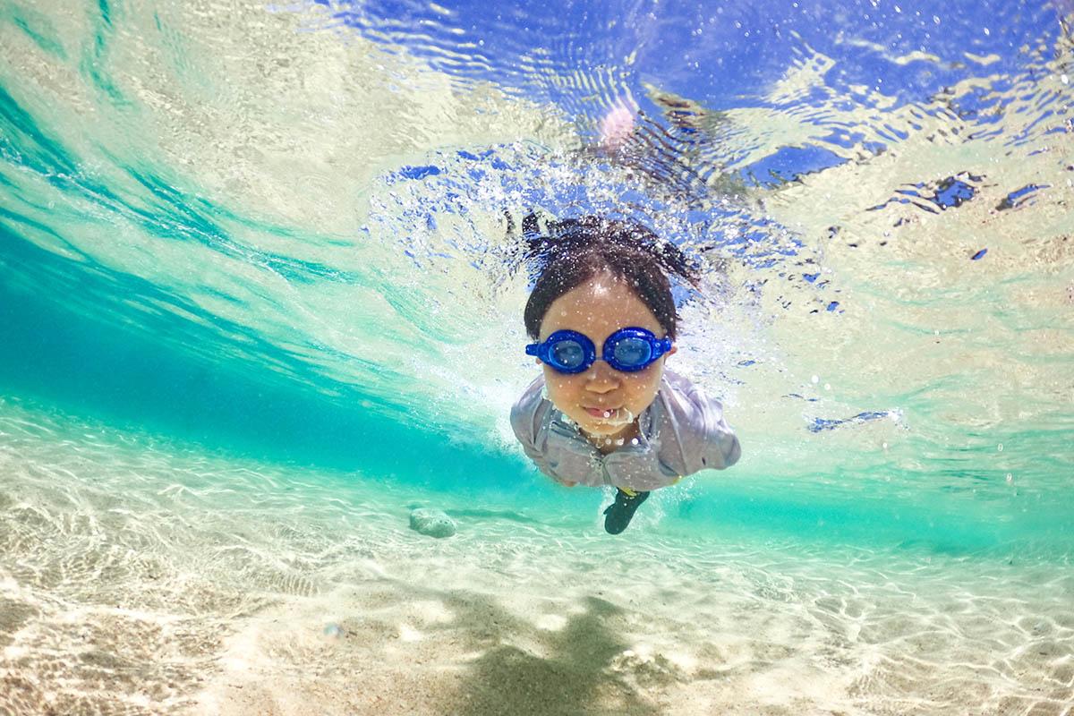 海で子供写真を上手に撮る方法