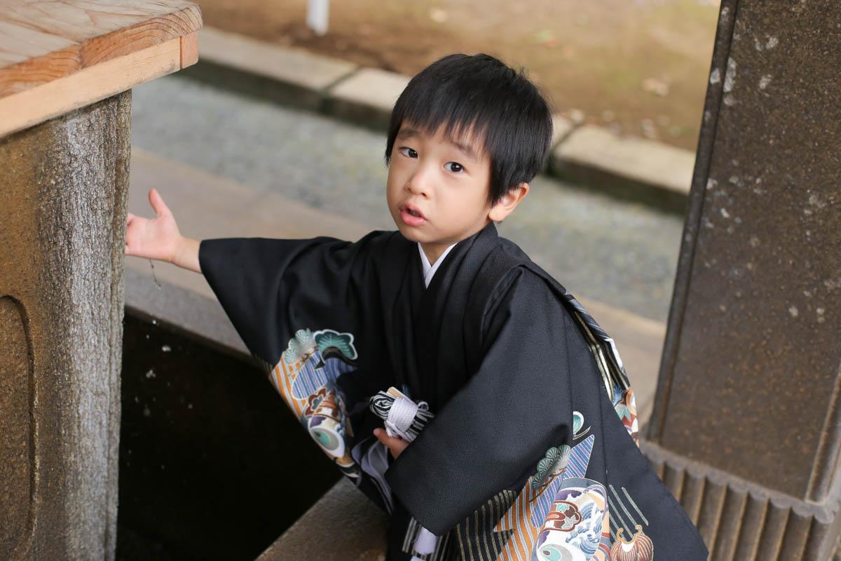 根津神社で出張撮影14