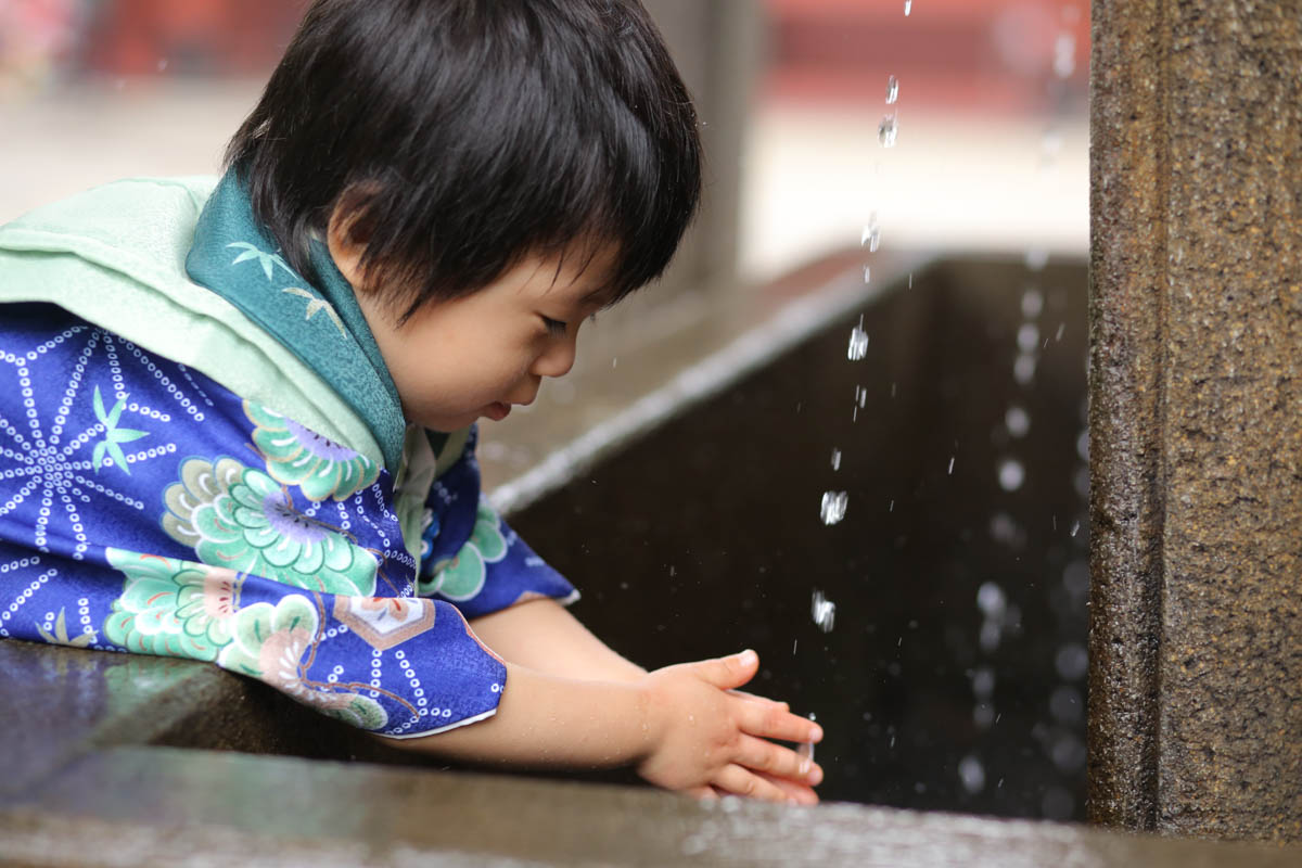 根津神社で出張撮影13
