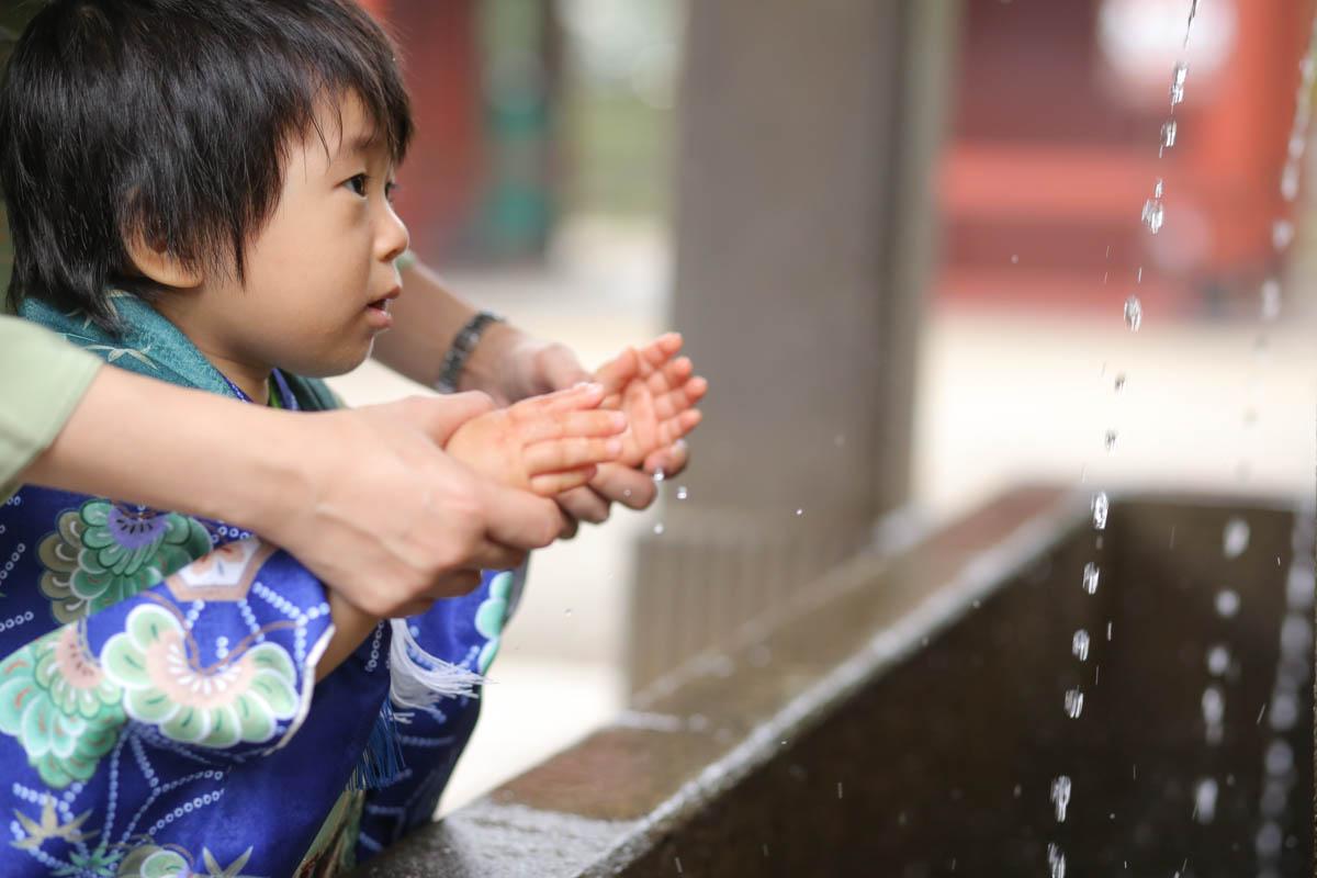 根津神社で出張撮影11