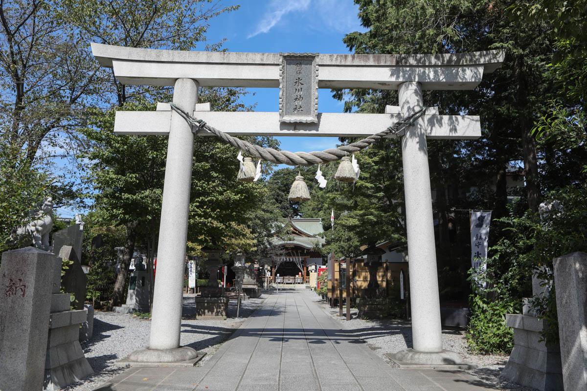 鎮守氷川神社で七五三・お宮参りの出張撮影