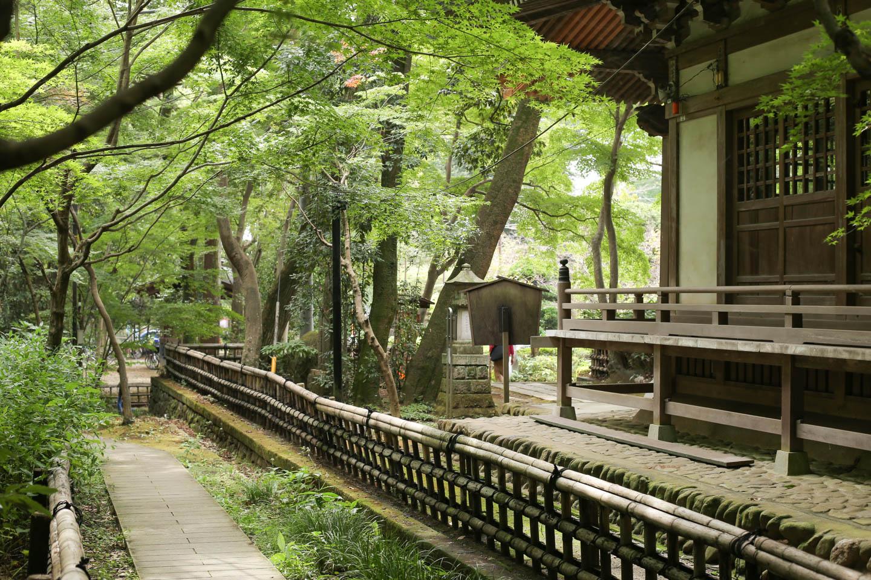 京都のような風情を感じる風景