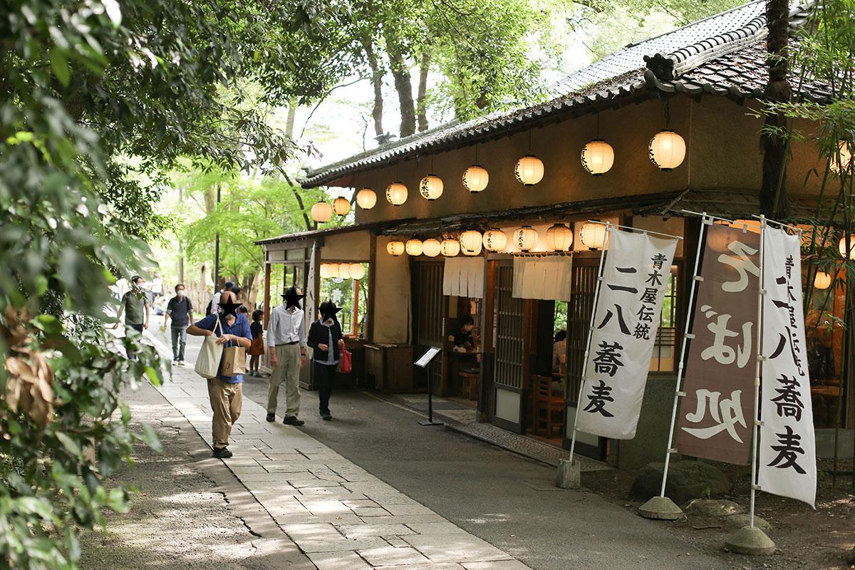 深大寺の青木屋 二八蕎麦