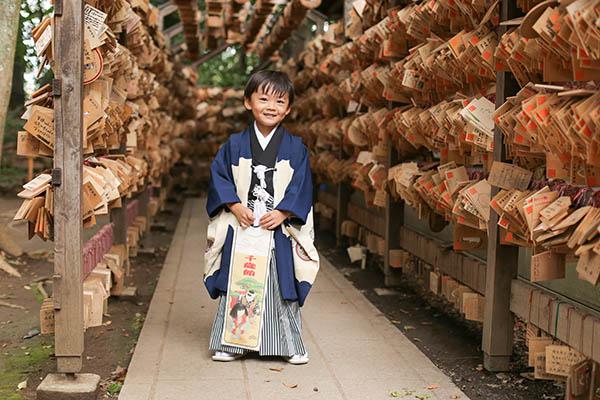 川越氷川神社に出張撮影 5歳の七五三