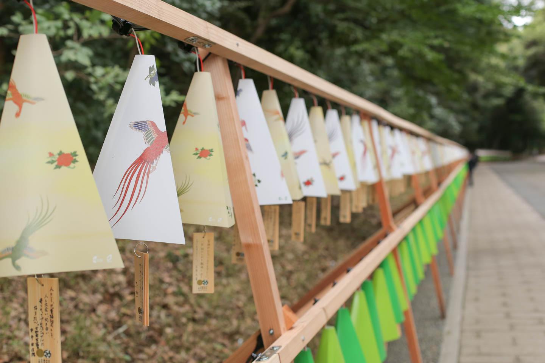 明治神宮 鎮座百年祭の装飾