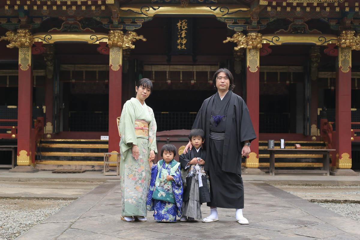根津神社 出張撮影1