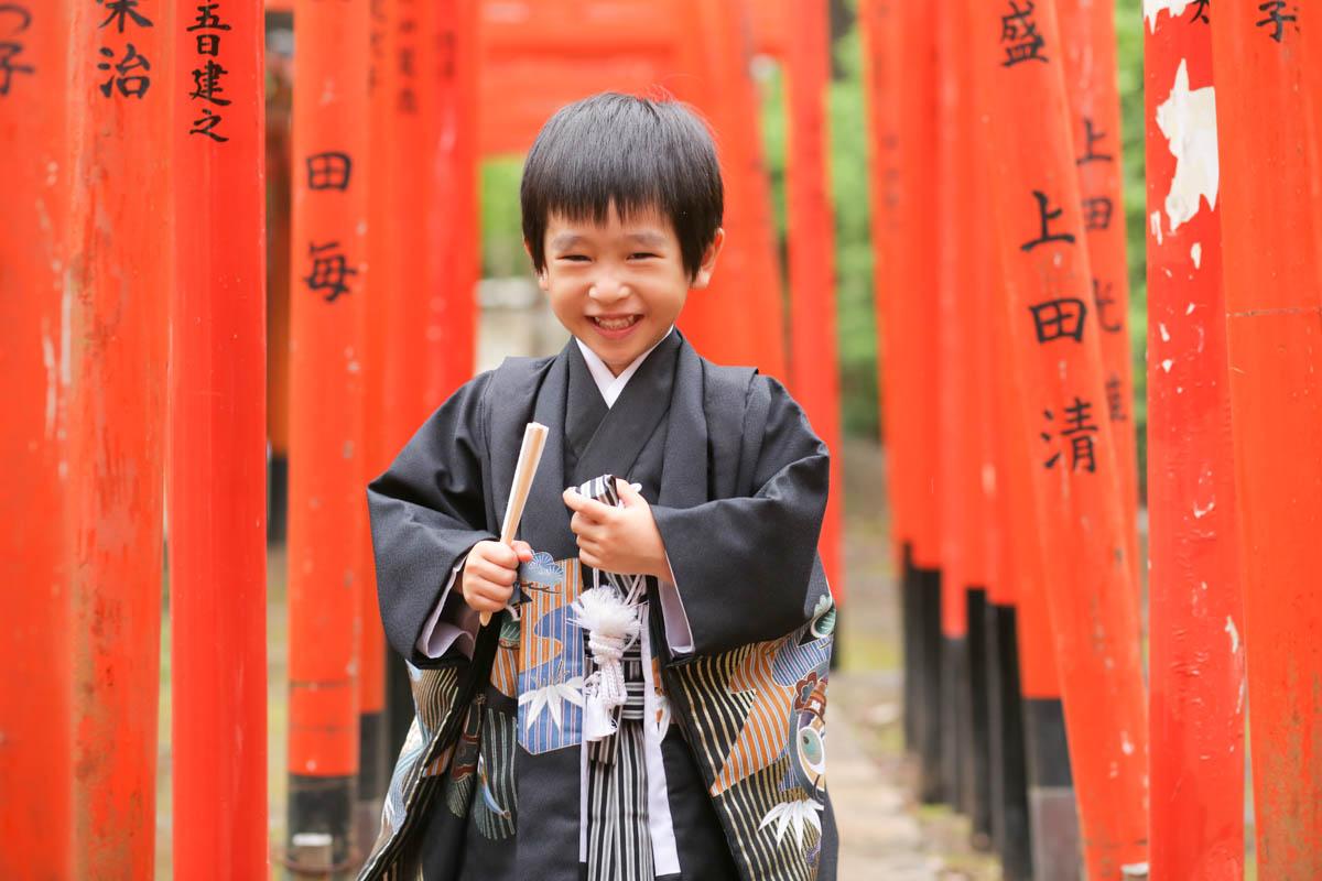 根津神社で出張撮影4