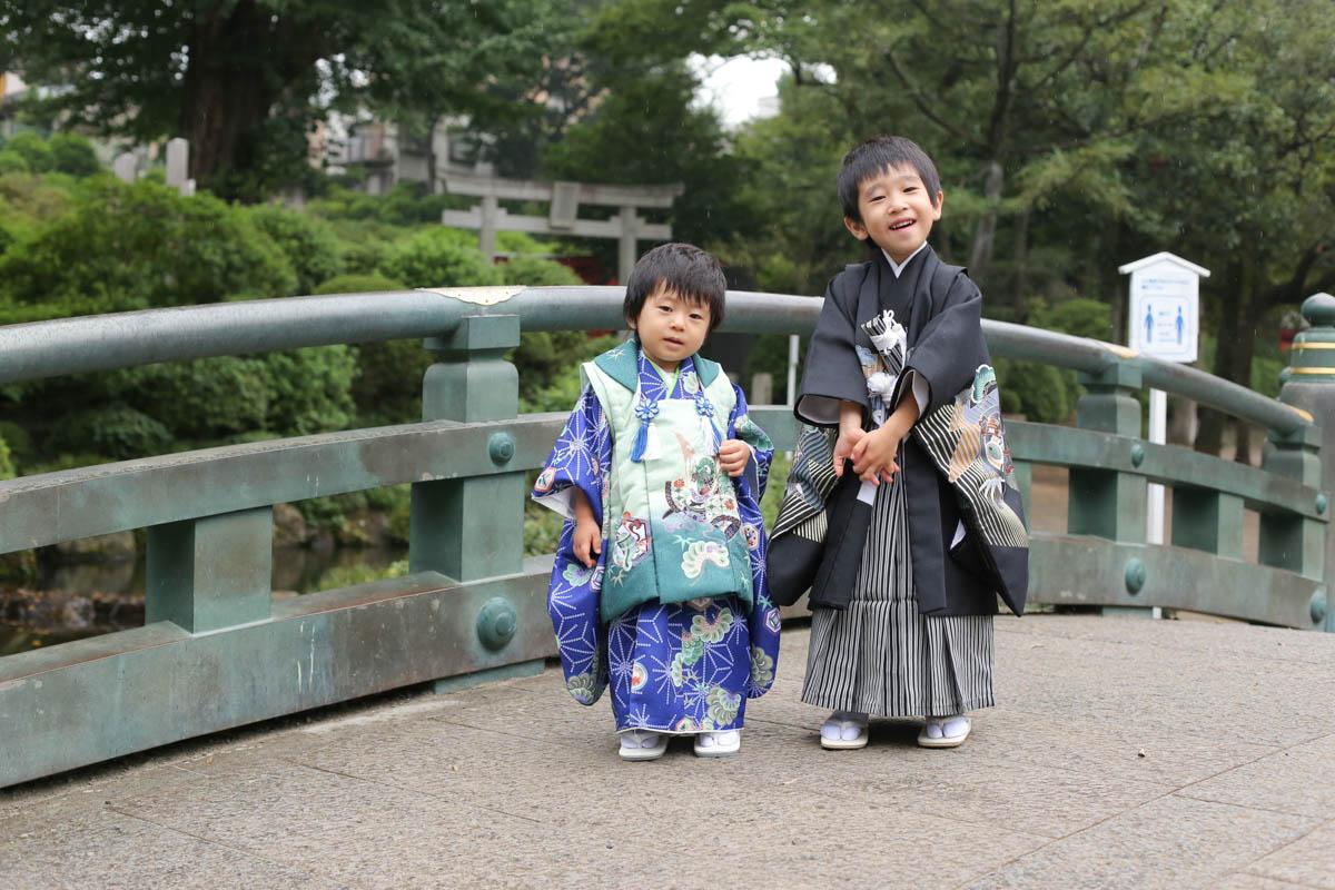 根津神社で出張撮影6