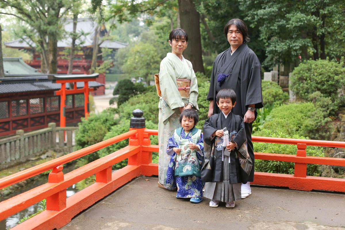 根津神社で出張撮影7