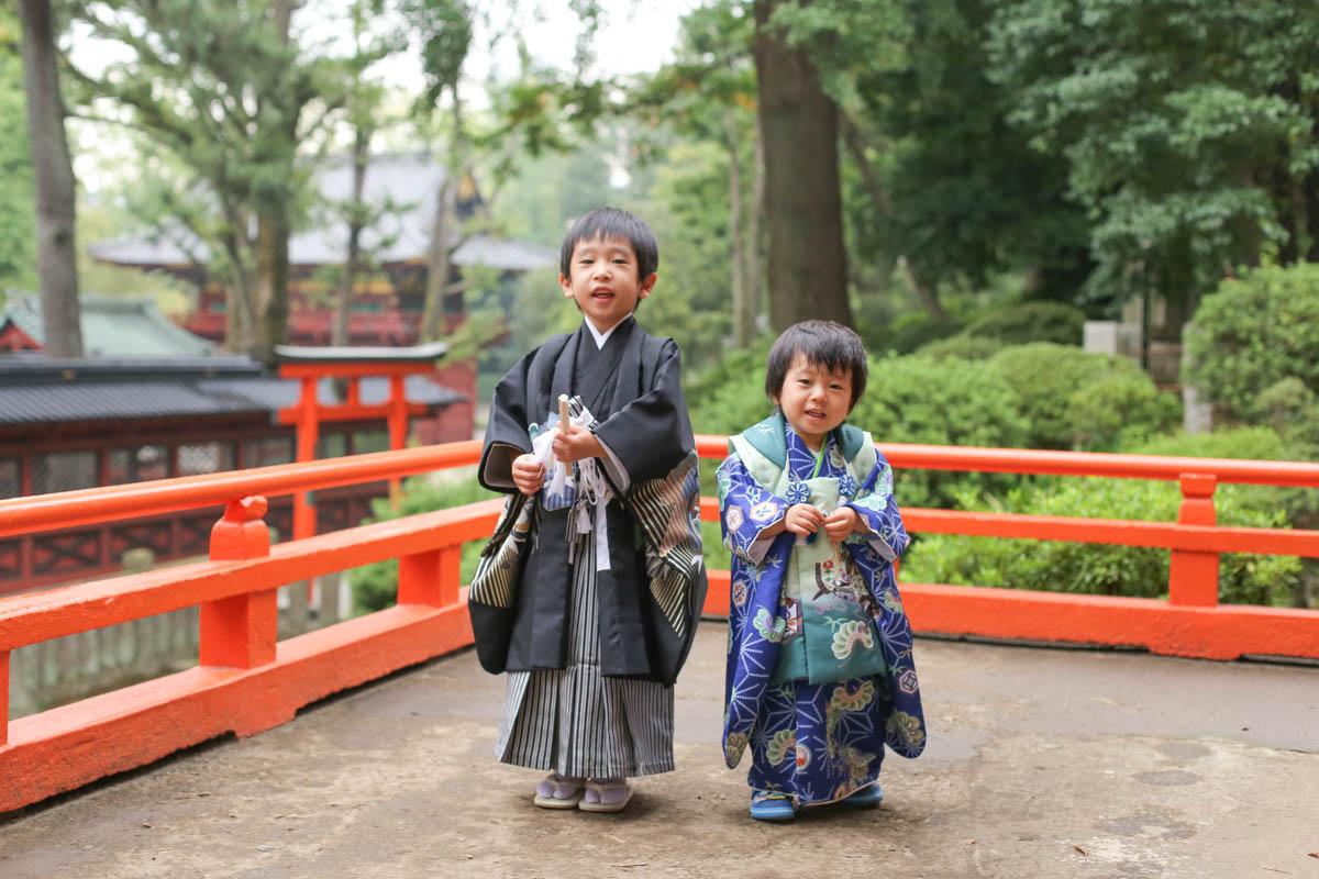 根津神社で出張撮影8