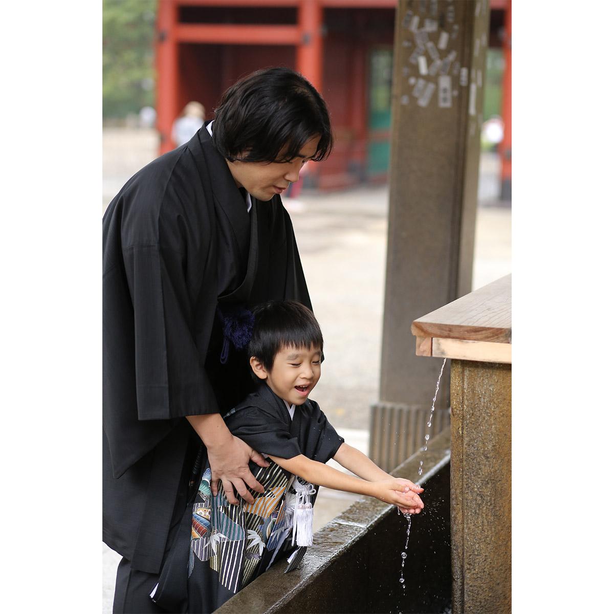 根津神社で出張撮影9