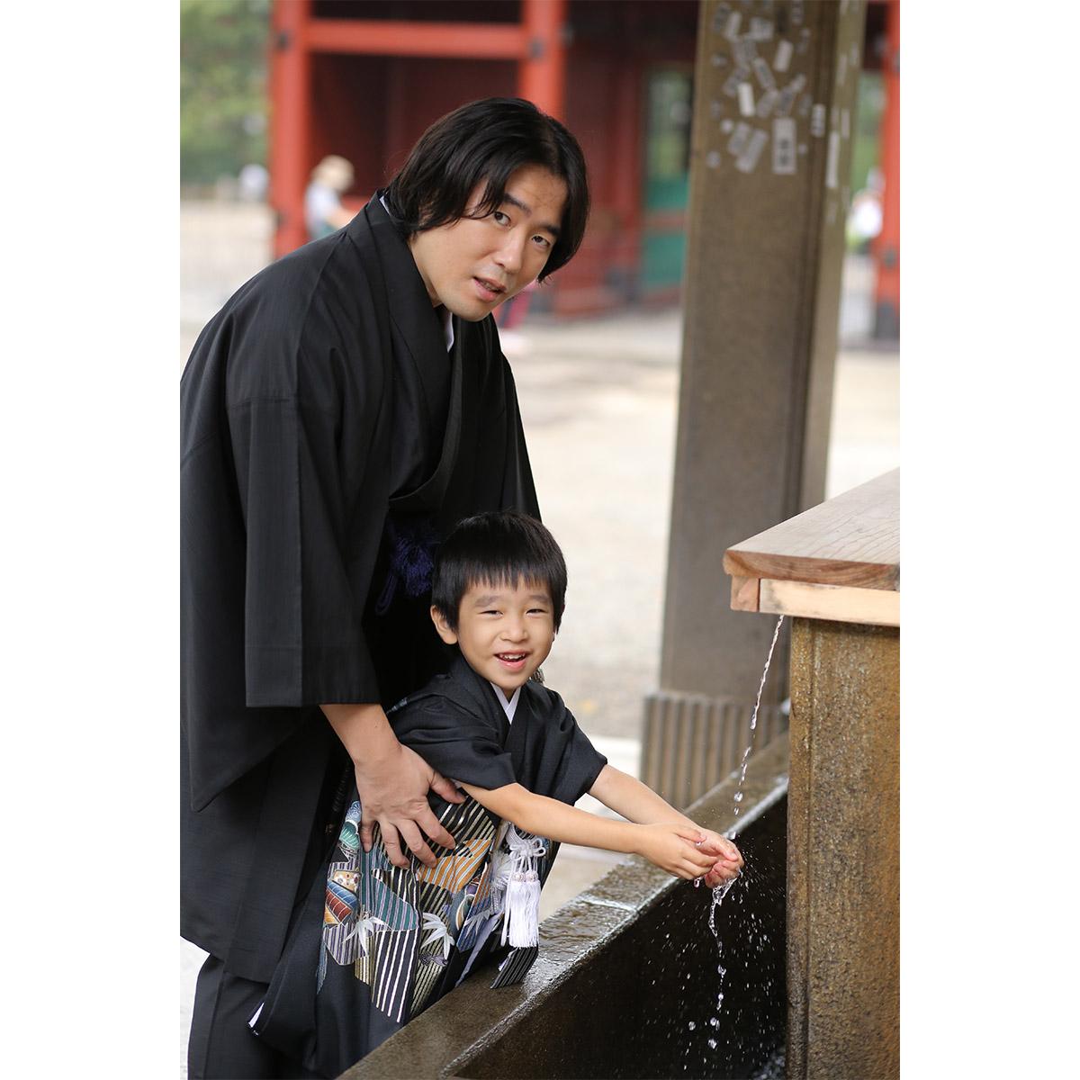 根津神社で出張撮影10