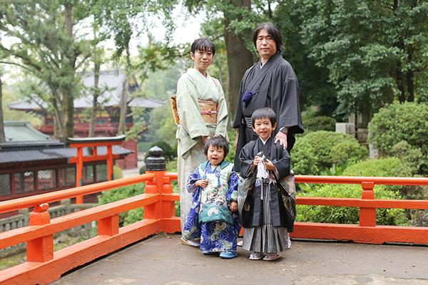 根津神社に出張撮影 / 5歳の七五三〜小雨が降る日に〜