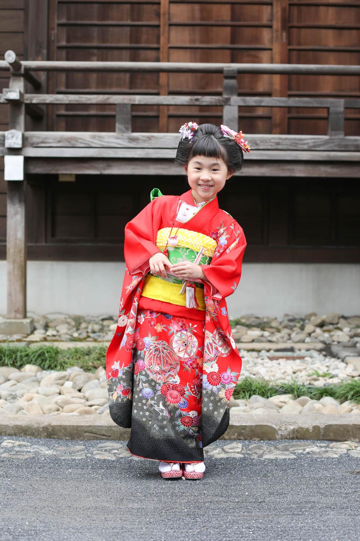 松陰神社へ出張撮影