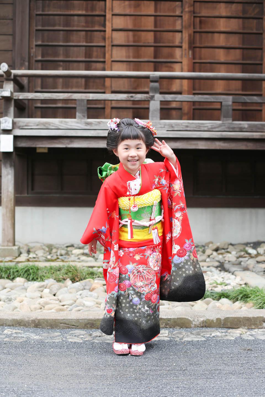 松陰神社へ出張撮影2