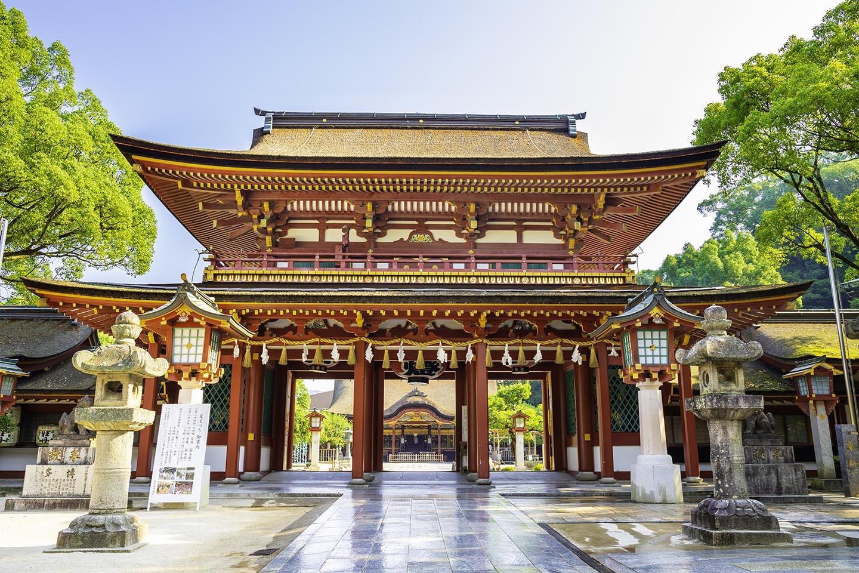 太宰府天満宮の立派な楼門