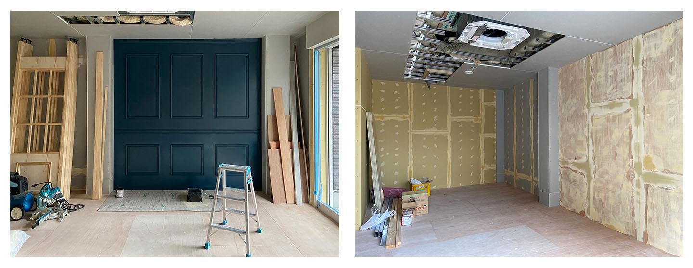 写真館の開業支援 内装工事